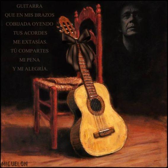 guitarra luto