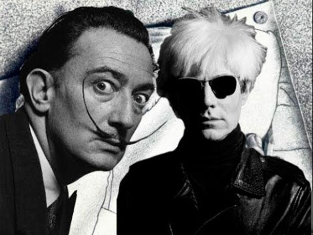 dali and warhol